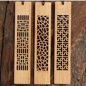 Other - Wooden Geometric Bookmark Bundle NWT